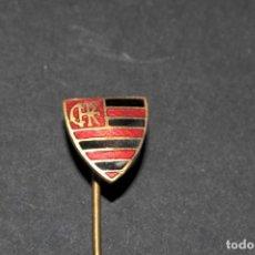 Pins de colección: PIN - INSIGNIA DE AGUJA - FLAMENGO (CLUBE DE REGATAS DO FLAMENGO) FUTBOL BRASIL. Lote 201267506