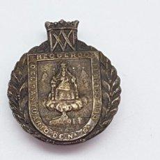 Pins de colección: INSIGNIA SOLAPA PLATA SANTUARIO COLLELL ( SANTANACH BARCELONA ) AÑOS 20. Lote 201972913