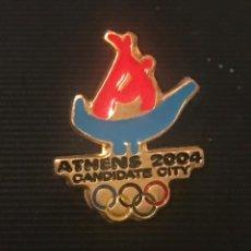 Spille di collezione: PIN CANDIDATURA JUEGOS OLIMPICOS ATENAS 2004 - OLYMPIC BID PIN. Lote 201993513