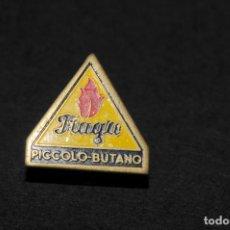 Pins de colección: PIN INSIGNIA DE SOLAPA - FLAGA (PICCOLO BUTANO). Lote 202282412
