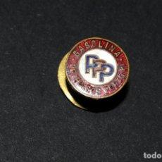Pins de colección: PIN INSIGNIA DE SOLAPA ESMALTADA - GASOLINA PETROLEOS PORTO PI. Lote 202283167