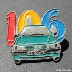 Pins de colección: PIN - PEUGEOT 106 - AUTOMOVILISMO. Lote 142138830