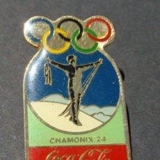 Pins de colección: PIN - COCA COLA - JUEGOS OLÍMPICOS - CHAMONIX 24. Lote 142229650