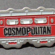 Pins de colección: PIN - COSMOPOLITAN - VAGÓN DE METRO - TREN. Lote 143070746
