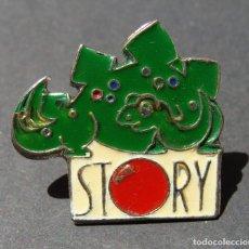 Pins de colección: PIN - STORY - DINOSAURIO. Lote 143073598