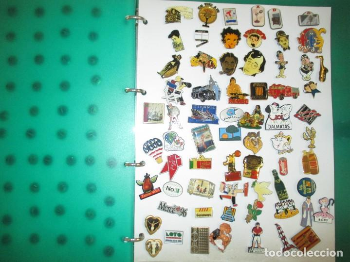 Pins de colección: FABULOSA COLECCION DE 190 PINS / ALBUM INCLUIDO / MUY BUEN ESTADO - Foto 3 - 203332721