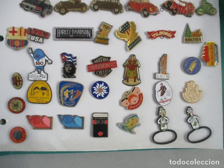Pins de colección: FABULOSA COLECCION DE 190 PINS / ALBUM INCLUIDO / MUY BUEN ESTADO - Foto 7 - 203332721