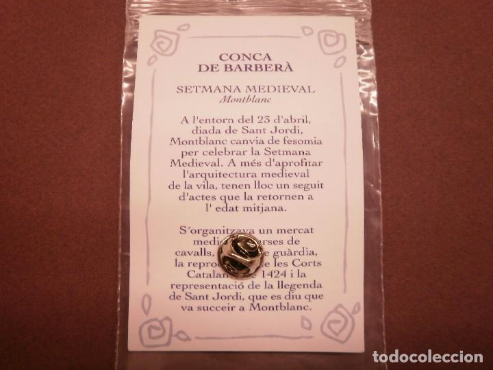 Pins de colección: PIN LA VANGUARDIA. FIESTAS MONTBLANC - Foto 2 - 203928591