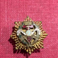 Pins de colección: INSIGNEA DE SOLAPA AL MERITO TECNOLOGICO ANTIGUA. Lote 204197686