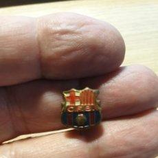 Pins de colección: INSIGNIA CFB - CLUB DE FUTBOL BARCELONA - BROCHE IMPERDIBLE. Lote 204480013