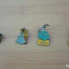Pin's de collection: LOTE 4 PINS CENICIENTA DISNEY. Lote 204644628