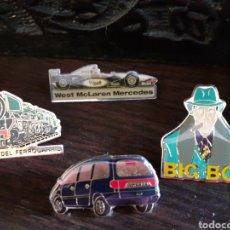 Pins de colección: LOTE PINS MC LAREN MERCEDES FERROCARRIL BIG BOY CITROEN ALHAMBRA. Lote 205799060