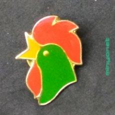 Pins de colección: PIN CORN FLAKES KELLOGG'S 1992 - CEREALES - GALLO. Lote 206190476