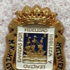 Pins de colección: PIN ESCUDO SAN SABASTIAN. Lote 206190485