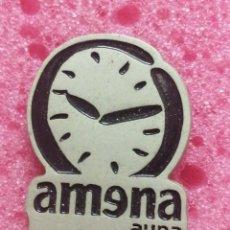 Pins de colección: PIN RELOG AMENA MÓVIL TELÉFONO. Lote 206297002