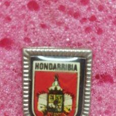 Pins de colección: PIN ESCUDO HONDARRUBIA. Lote 206297122