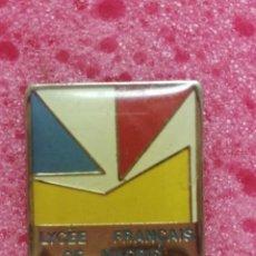 Pins de colección: PIN LICEO FRANCÉS EN MADRID. Lote 206297148
