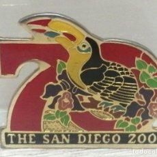 Pins de colección: PIN AGUJA ZOO DE SAN DIEGO CALIFORNIA 75 ANIVERSARIO. Lote 206297395