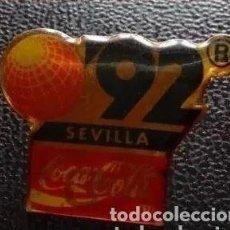 Pins de colección: COCA COLA SEVILA 92. Lote 206395857