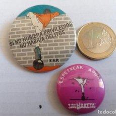 Pins de colección: PIN POLÍTICO SALHAKETA. Lote 206459905