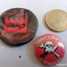 Pins de colección: PIN POLÍTICO ANTICAPITALISTA. Lote 206460666