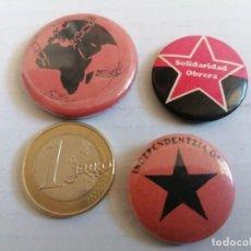 Pins de colección: PIN POLÍTICO SOLIDARIDAD OBRERA. Lote 206461991