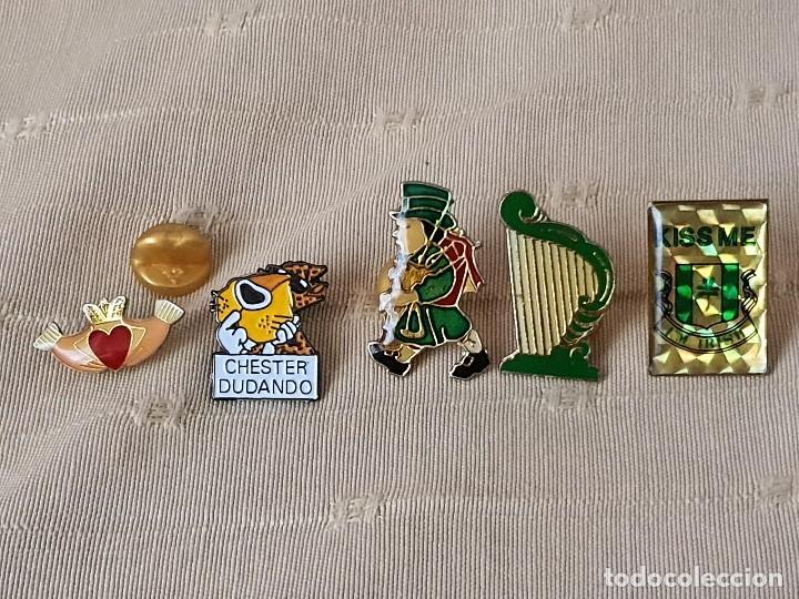 JUEGO 5 PIN (Coleccionismo - Pins)