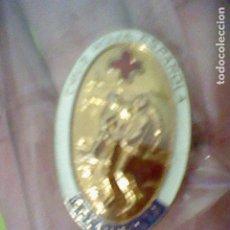 Pins de colección: SOCORRISTA INSIGNIA ANTIGUA PINTURA LACADA 3,8 CMS ALTO. Lote 207229857