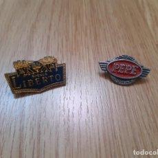 Pins de colección: PINS LIBERTO BUENOS Y PEPE JEANS. Lote 207320312