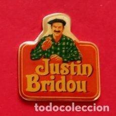 Pins de colección: PIN JUSTIN BRIDOU. Lote 207343907