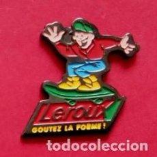Pins de colección: PIN LEROUX. Lote 207344143