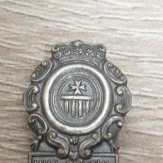 Pins de colección: PIN ESCUDO VILLANUEVA DE SIGENA OJAL. Lote 208651952