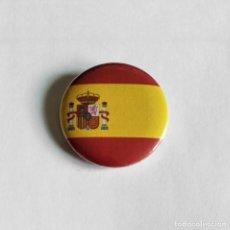 Pins de colección: BANDERA ESPAÑA - CHAPA 31MM (CON IMPERDIBLE). Lote 143229849