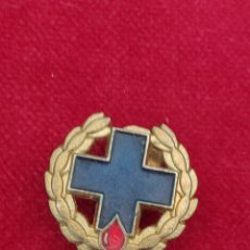 Pins de colección: PIN CRUZ AZUL DONANTES DE SANGRE. Lote 211276456