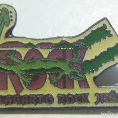 Pins de colección: PIN LAGARTO ROCK JAEN. Lote 211350409