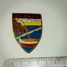 Pins de colección: INSIGNIA DE AGUJA BLANES. Lote 211431165