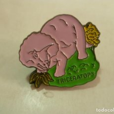 Pins de colección: PIN TRICERATOPS-NUEVO. Lote 211680823
