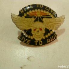 Pins de colección: PIN RIDE TO LIVE. Lote 211680909