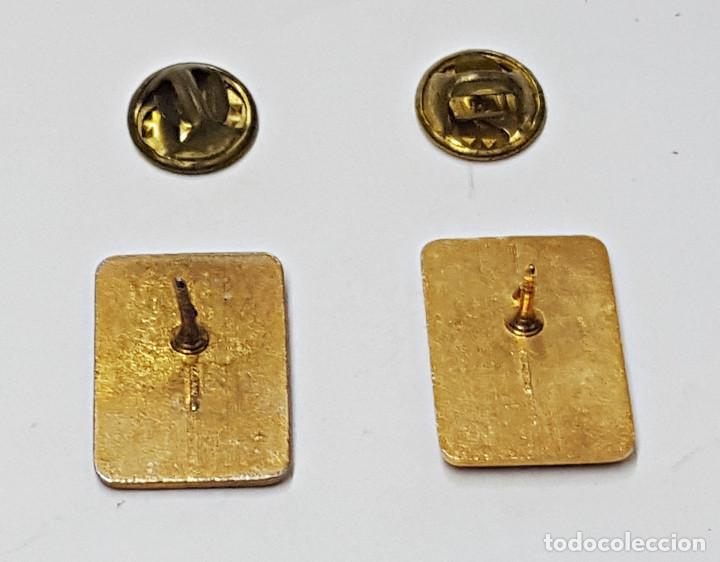 Pins de colección: 2 PIN F. FRANCO Y J.A.PRIMO DE RIVERA. - Foto 2 - 213216287
