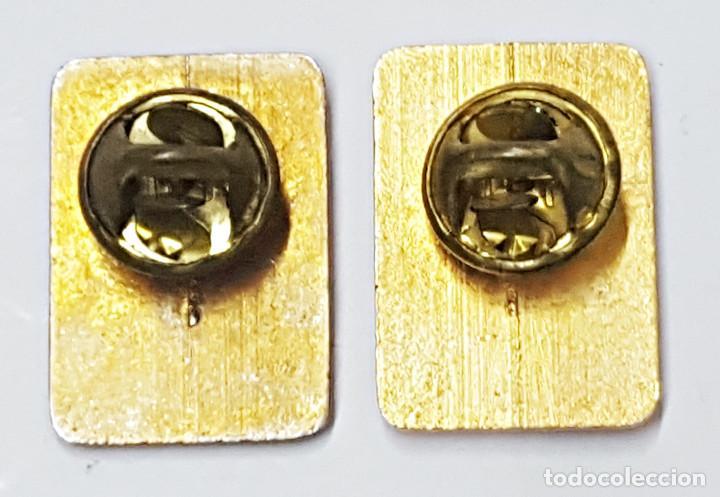 Pins de colección: 2 PIN F. FRANCO Y J.A.PRIMO DE RIVERA. - Foto 3 - 213216287