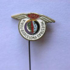Pins de colección: LOTE 5 PINS BARCELONA - 1952 / 1953 / 1961 Y 1992 (2) - (VER DESCRIPCIÓN). Lote 213340933