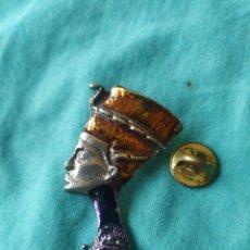 Pins de colección: PIN DAMA REINA EGIPCIA EGIPTO. Lote 213603727