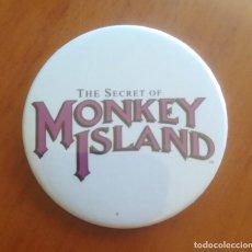 Pins de colección: CHAPA ALFILER THE SECRET OF MONKEY ISLAND. Lote 213631887