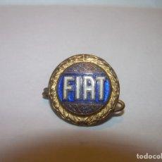 Pins de colección: ANTIGUA INSIGNIA.ESMALTADA...FIAT.. Lote 215337608