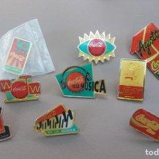 """Pins de colección: LOTE DE PINS """"TEMA COCA COLA"""". Lote 215832132"""
