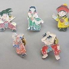 """Pins de colección: LOTE DE PINS """"BOLA DE DRAGON"""". Lote 215832698"""