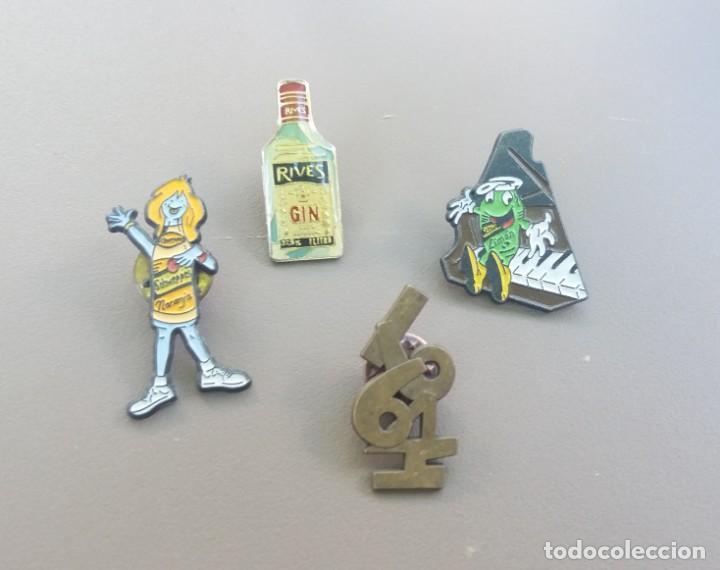 """LOTE DE PINS """"TEMA BEBIDAS"""" (Coleccionismo - Pins)"""