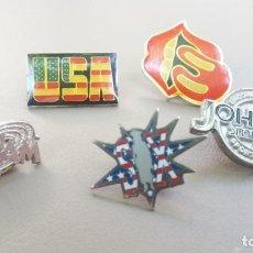 """Pins de colección: LOTE DE PINS """"TEMA AMERICA"""". Lote 215833467"""