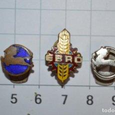 Pins de colección: CAMIONES PEGASO Y EBRO - 3 PINS / INSIGNIAS ESMALTADOS DIFERENTES - MUY RAROS/DIFÍCILES ¡MIRA!. Lote 217340017