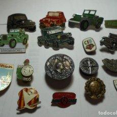 Pins de colección: MAGNIFICOS 17 PINS ANTIGUOS DIFERENTES TEMATICAS. Lote 218317470